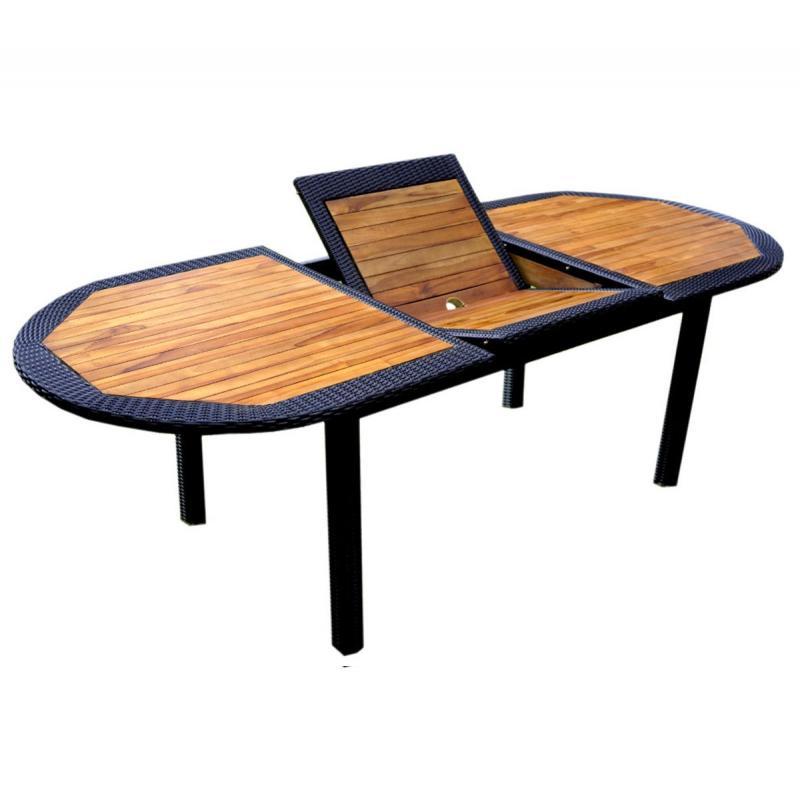 Table En Teck En R Sine Tress E Pour Votre Jardin