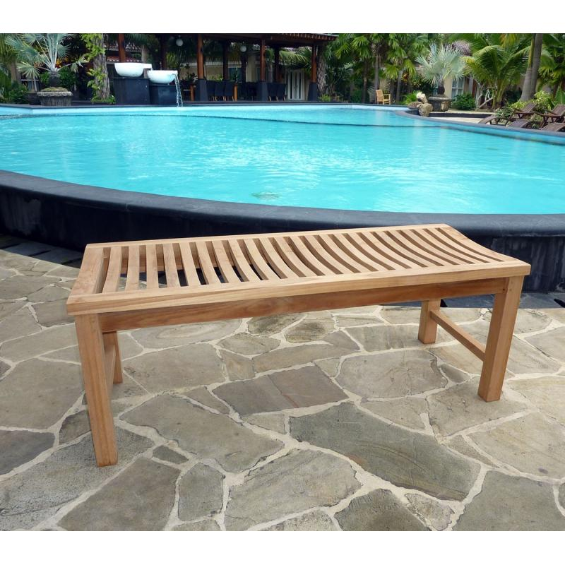 banc en teck pour jardin simple banc de jardin en teck brut cm jardin piscine with banc en teck. Black Bedroom Furniture Sets. Home Design Ideas
