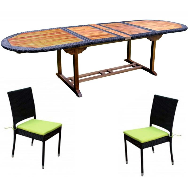 Table de jardin en resine ovale des id es for Table de jardin resine
