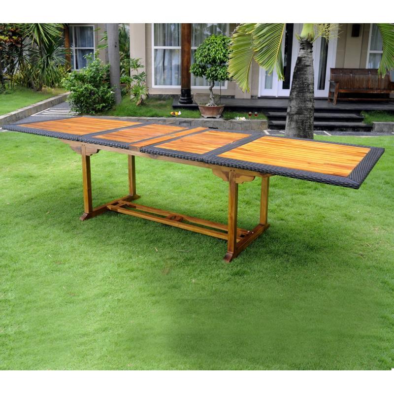 emejing table de jardin teck design images awesome. Black Bedroom Furniture Sets. Home Design Ideas