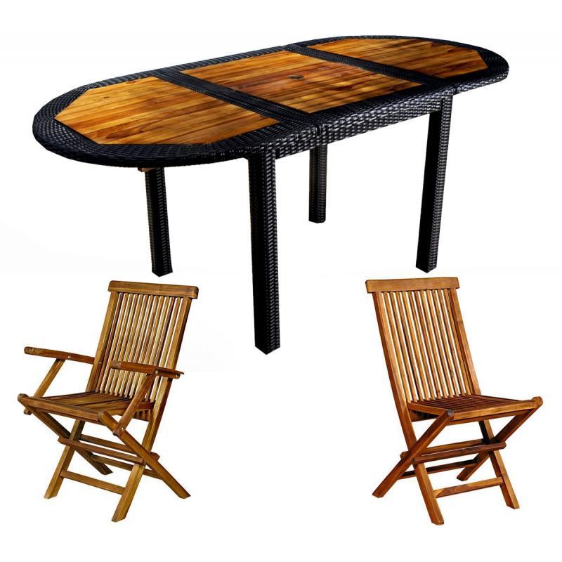 mobilier de jardin no wood. Black Bedroom Furniture Sets. Home Design Ideas