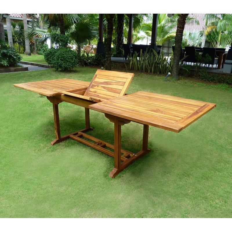Table de jardin en teck soldes - Soldes table de jardin ...