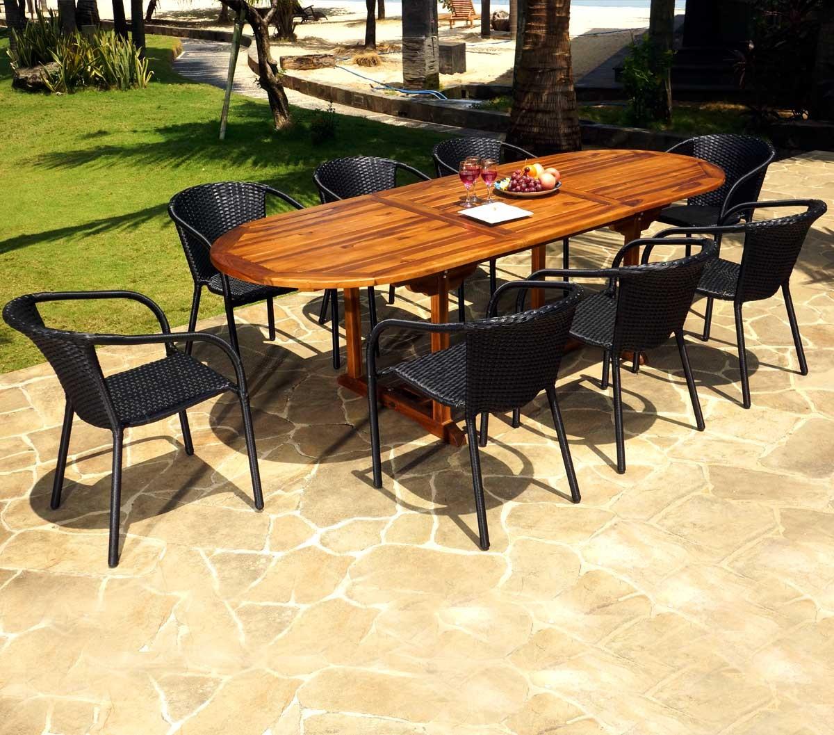 Recherche de salon de jardin avec table puroplan et 6 - Recherche table de jardin ...