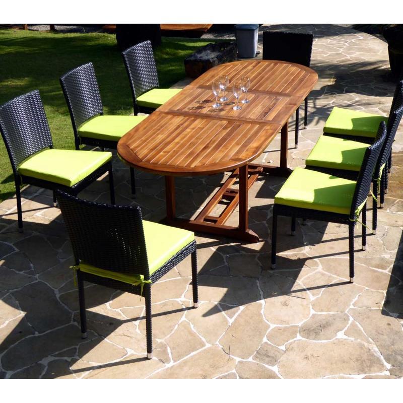Salon De Jardin Wood En Stock – Qaland.com