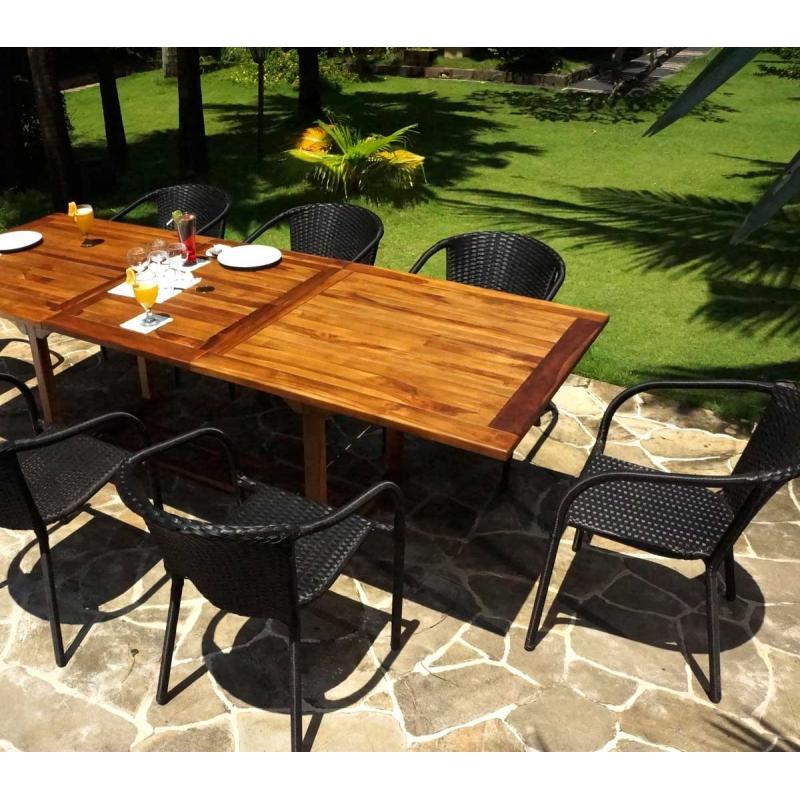 Salon De Jardin Teck Huile – Qaland.com