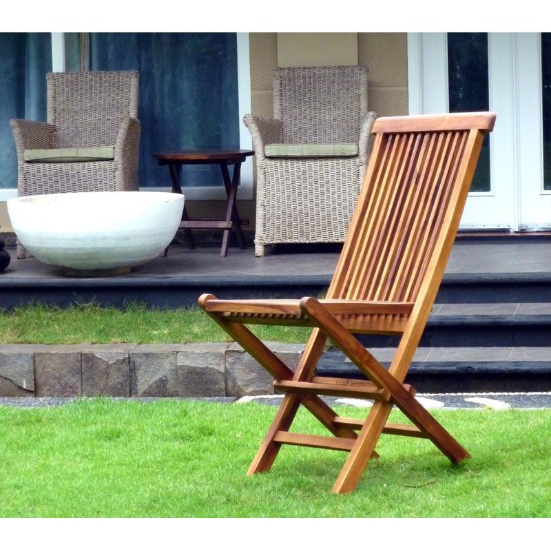 Profitez de ce lot de 2 chaises de jardin pliantes kuta en - Lot de chaise de jardin ...