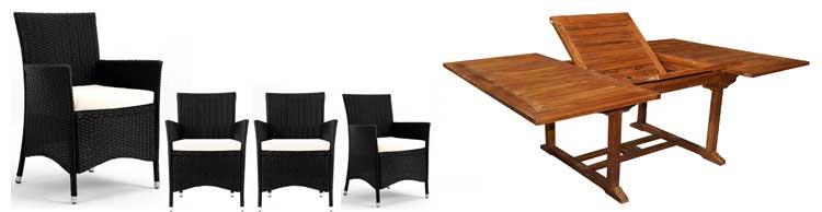 ensemble table et fauteuil de jardin pas cher