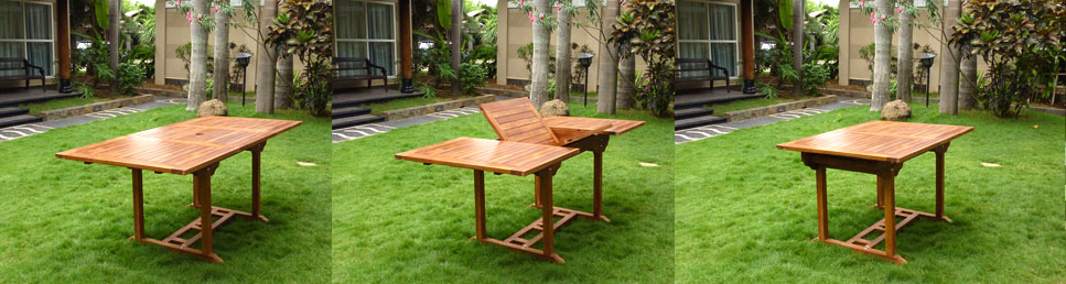 table de jardin lombok