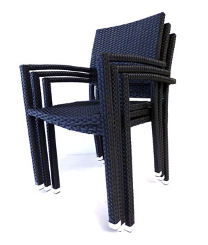 fauteuil de jardin en resine