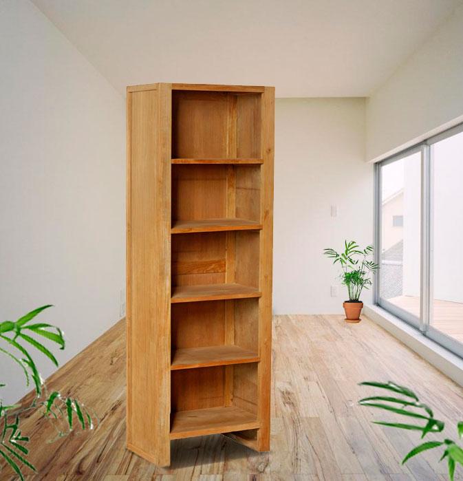 biblioteque en teck premium Braha