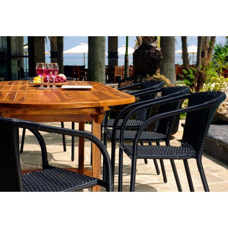 ensemble de jardin java bora avec table rallonge 240 cm. Black Bedroom Furniture Sets. Home Design Ideas