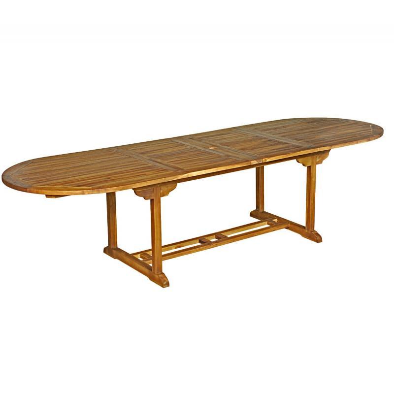 Table XXL ovale en teck huilé 12 places   Sumatra ... 6d1cd73e016c