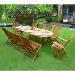 Salon de jardin pas cher et meuble en teck et résine tressée - wood ...