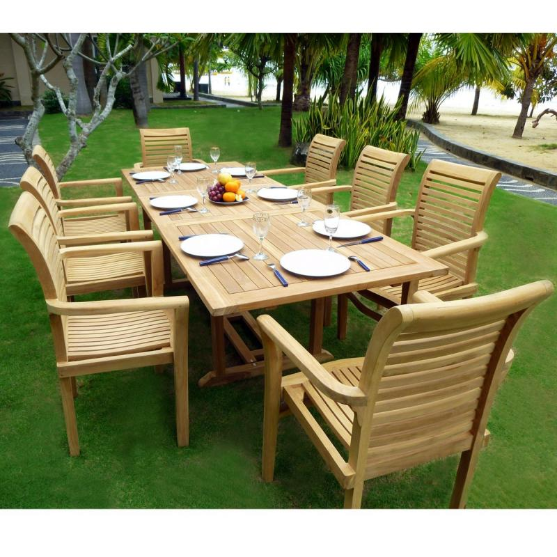 Awesome Table De Jardin En Teck Grade A Pictures - House ...