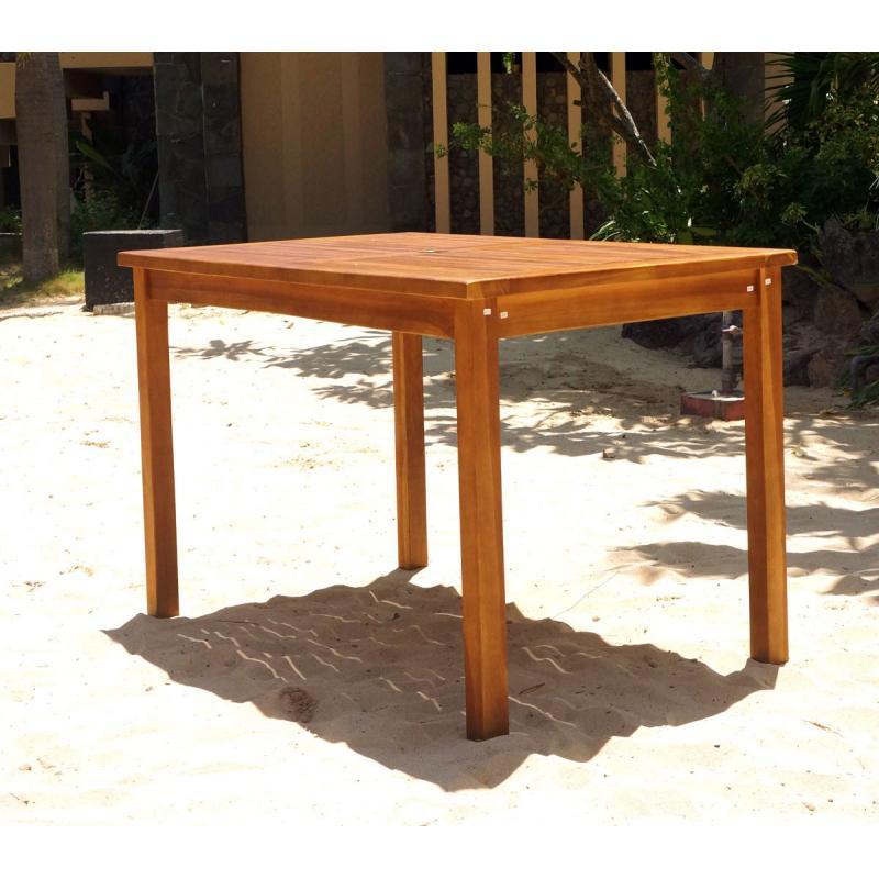 Huilé Table Jardin Teck X 120 Cm En 70 De jVGLSzpqUM