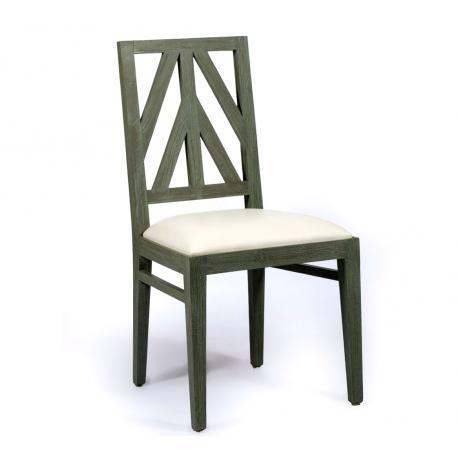 Chaise en teck d'interieur : Maïa - teck premium