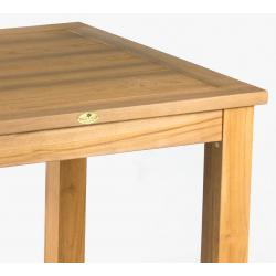 table de salon en bois de teck 180x92 cm