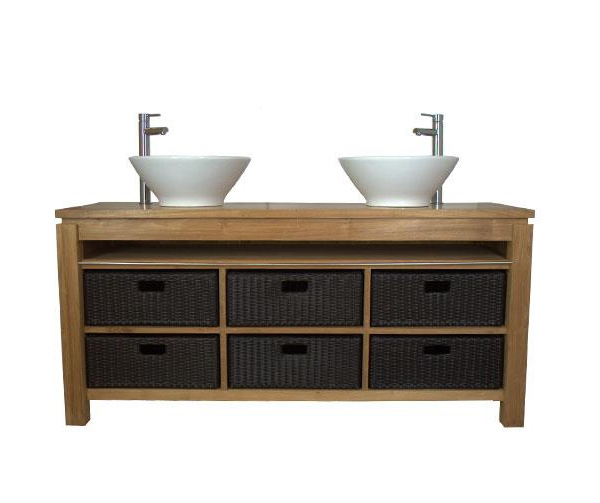 meuble Etania avec vasque (livré sans)