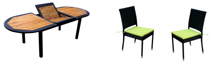 salon java rattan de jardin