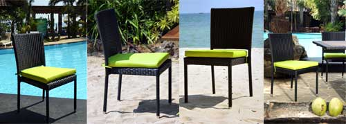 chaise de jardin en resine - Hanaé