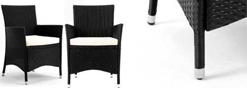 fauteuil exterieur en resine