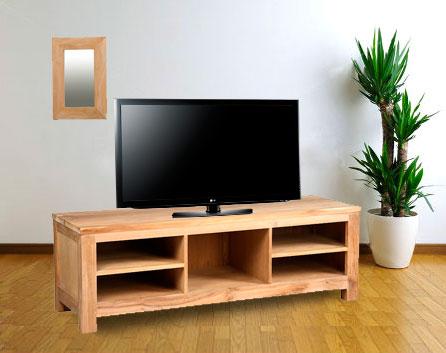 meuble de télévision en teck