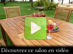 découvrez votre salon de jardin en vidéo