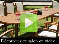salon de jardin grande taille en video